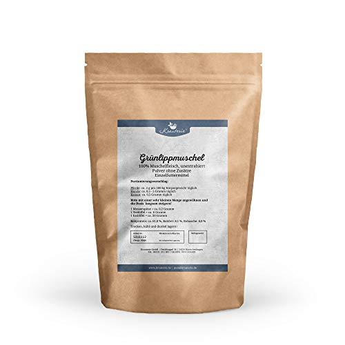 Grünlippmuschel in hochwertiger Qualität, frei von jeglichen Zusätzen, für Pferde, Hunde oder Katzen (Perna Canaliculus) – 100 g