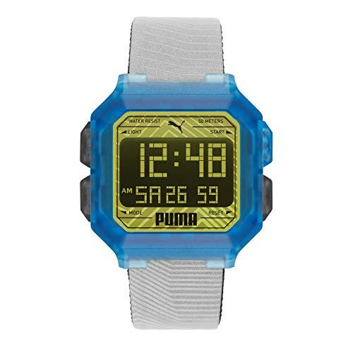 PUMA Remix LCD de Dos Tonos de Poliuretano Azul y Verde para Hombre P5038