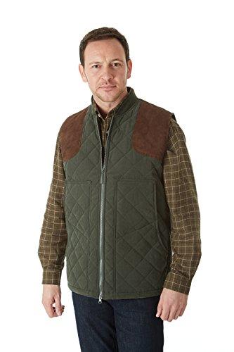 Sherwood Forest heren jersey gewatteerd vest