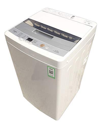 送料無料 AQUA 全自動洗濯機 AQW-S45E(W) ホワイト 4.5kg アクア