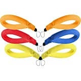 6 Pieces Waterproof Camera Float Phone Floating Wrist Strap Underwater Camera and Waterproof Phone Pouch Case for Key Waterproof Bag Wristband Floats Your Device for Underwater, 4 Colors