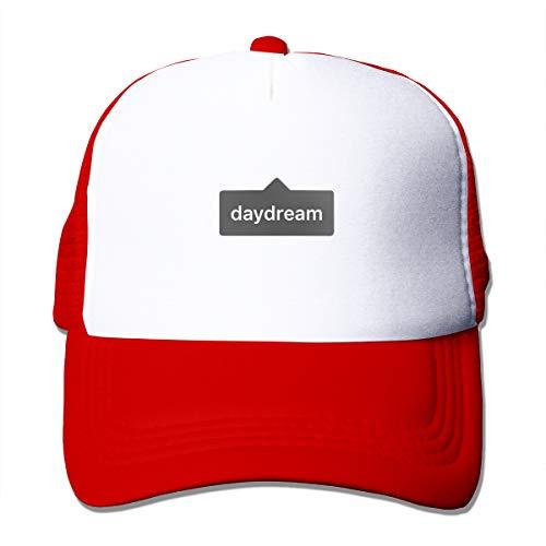 Wfispiy Day Dream Mesh Pink Plain Baseball cap Adjustable Men Women Unisex Outdoor Sports Wear