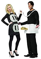 theme and have halloween costumes that go together halloween is the perfect opportunity to take a festive family or couples photo that can be framed or