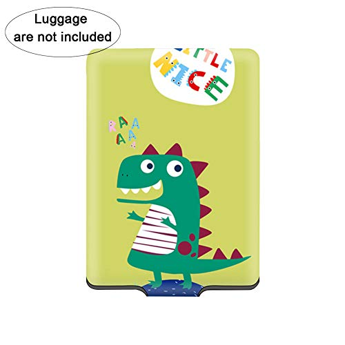 Travel Suitcase Case Creative Luggage Cover with Dinosaur Pattern Universal Suitcase Protective Cover Luggage Accessories L