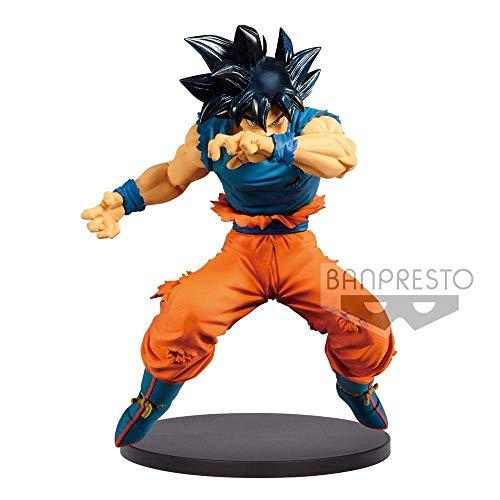 Ban Presto Dragon Ball Z - Figurine Blood of Saiyans, Son Goku Ultra Instinct, 16cm