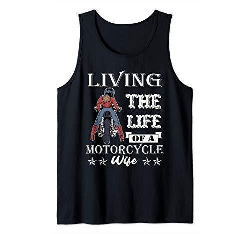 Regalo de frenos Mujer Mujer Moto Esposa Moto Chica Moto Camiseta sin Mangas