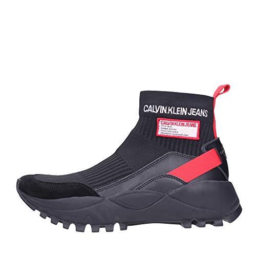 Calvin Klein Zapatos de mujer Art R7812 Black Tomato Color Foto Medida a elegir Size: 40 EU