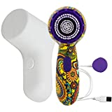 Michael Todd Soniclear Petite - Antimicrobial Facial Cleansing Brush System -3-Speed Sonic Powered Exfoliating Face & Body Brush