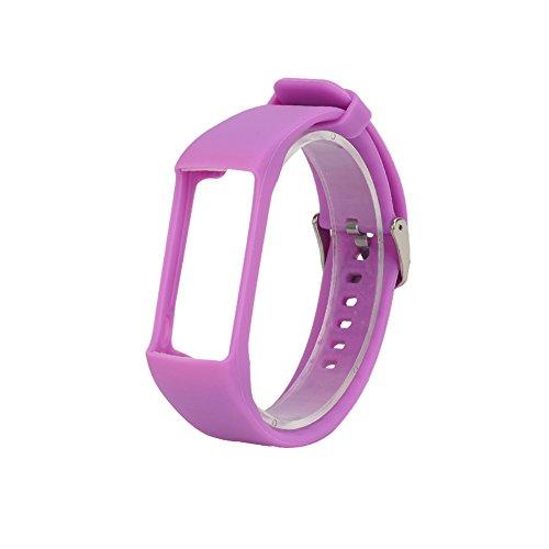 Shootingstar Universal Silikon Ersatzarmband Armband Für Polar A360 A730 GPS Smart Uhr Smart Armband (Lila)