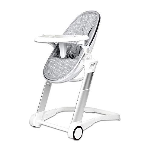 Playxtrem Cadeira Alta Pop Sit + 0m Gray Rice