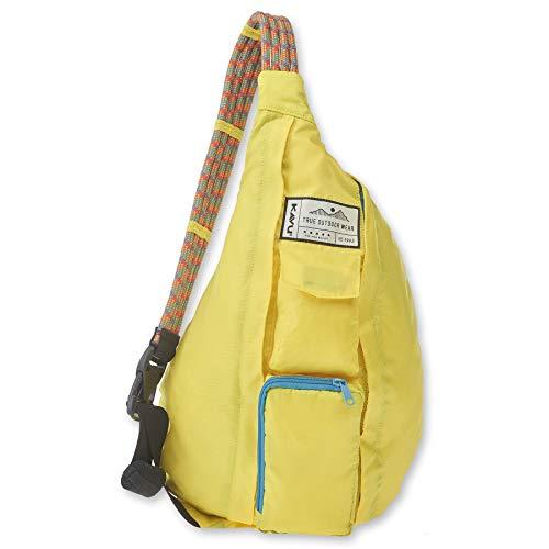 KAVU Original Rope Pack Lightweight Water Resistant Sling Bag - Banana Split