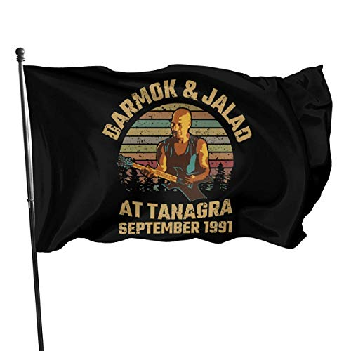 Yuanmeiju Bandera de jardín Darmok and Jalad at Tanagra Flagidlightweight Durable Outdoor Decorative Yard Flag Home Garden Flag 3x5 Ft