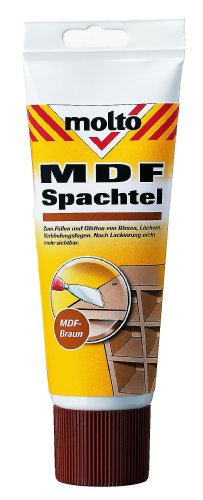 Molto MDF Spachtel 330g, braun, 5087703 - Molto Holz Reparatur Spachtel 1 Stück