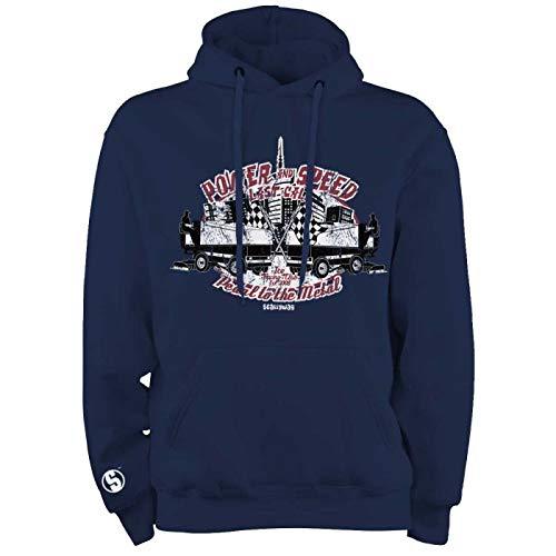 Scallywag® Eishockey Hoodie Zamboni Ice Racing I Größen S - XXL I A BRAYCE® Collaboration (Hockey Kapuzenpullover) (XXL)