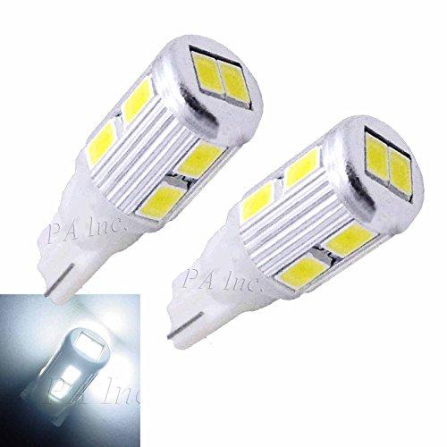 PA 2 x 10–5630 LED Blanc ampoules de stationnement 168 2825 T10 194 + 2 x BA15S Adaptateurs