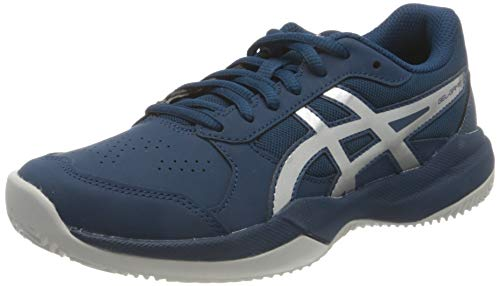 ASICS Gel-Game 7 Clay/OC GS, Zapatos de Tenis Unisex Niños, Mako Blue...