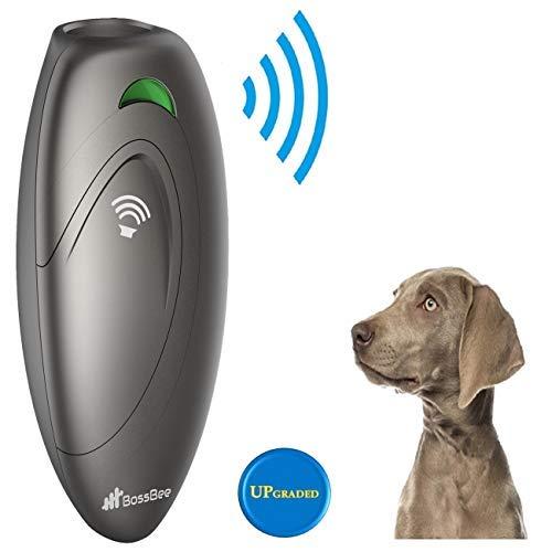 BossBee Ultrasonic Barking Control, Dog bark Control, Bark Trainer, Anti Barking Device, Handheld ultrasonic Dog bark Deterrent with Wrist Strap,No bark Devices,Barking Dog Deterrent,Bark Controller