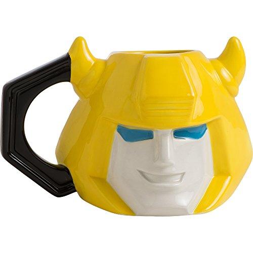 Vandor Transformers Bumblebee en céramique sculptée Mug