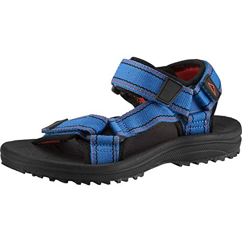 McKINLEY Maui, Chaussure de Marche, Blue Royal/Red/Bla, 35 EU