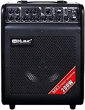 COOLMUSIC MR2 Street Monster 6-Channel 200-Watt Battery Powered Amplifier