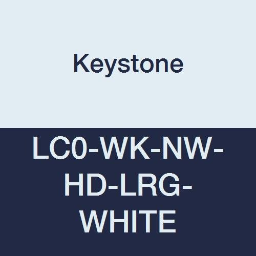 Keystone LC0-WK-NW-HD-LRG-WHITE Popular products Heavy Duty Lab We OFFer at cheap prices Coa Polypropylene