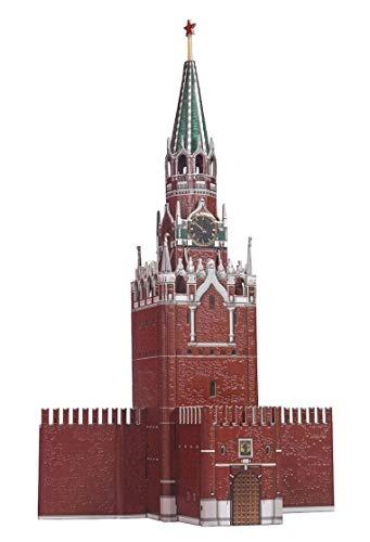 CLEVER PAPER- Puzzles 3D Torre de Spasskaya, Kremlin (14219)