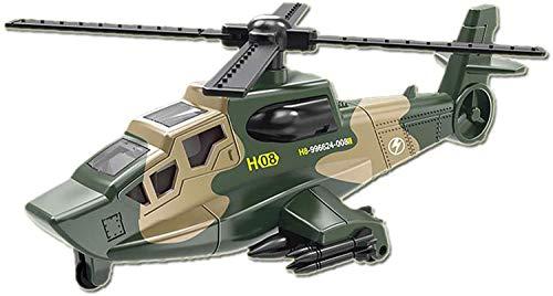 Foanerwi Diecast Metal Military Pullback Modell Kampfhubschrauber Zurückziehen Auto, Militäranzug-Modelldekoration Für Kinder, Jungen Und Mädchen