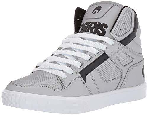 Osiris Men's Clone Skate Shoe Silver/White 8 M US