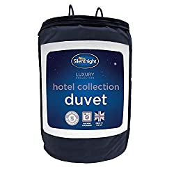 5 STAR COMFORT - Enjoy the 5 star comfort of a hotel every night with sumptuously soft embossed covers for ultimate comfort HYPOALLERGENIC – Kind to skin and does not include any contents likely to cause allergies MACHINE WASHABLE – Your duvet is mac...