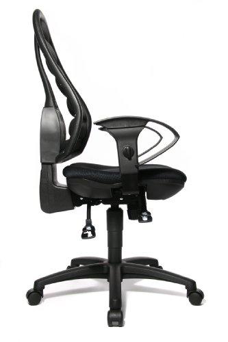 Topstar OF30UHK0 Bürostuhl Flex Point   In Schwarz   48 x 112 x 48 cm