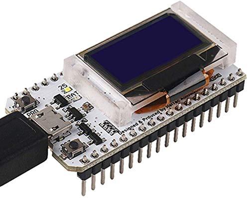 DollaTek ESP32 OLED WiFi Kit ESP-32 Placa de Desarrollo de Internet con Pantalla OLED de 0,96 Pulgadas WiFi y Bluetooth CP2012 para Arduino