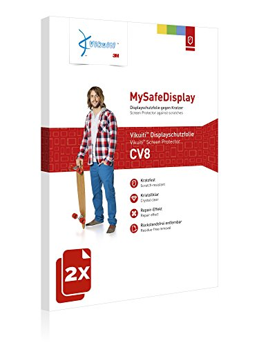 Vikuiti 2X Displayschutzfolie CV8 von 3M kompatibel mit Huawei Ascend D Quad XL U9510 Schutzfolie Folie - 2