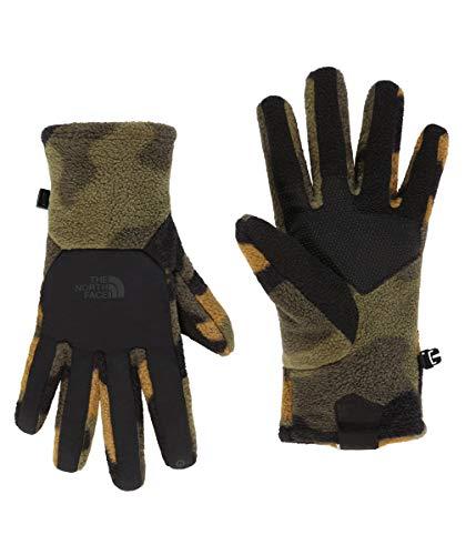 THE NORTH FACE Unisex Handschuhe Denali Etip, Größe:M, Farbe:Burnt Olive Green Woods camo Print