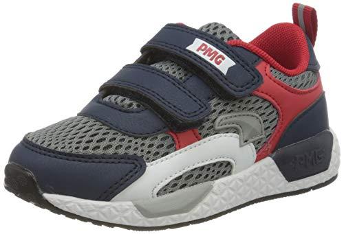 PRIMIGI Jungen Scarpa Bambino Sneaker, Blau (Navy-Rosso/GRIG 5453855), 29 EU