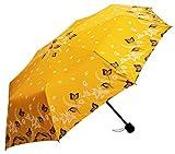 Sun Umbrella Nirali 4 Multicolor UV Protective 3 Fold Umbrella
