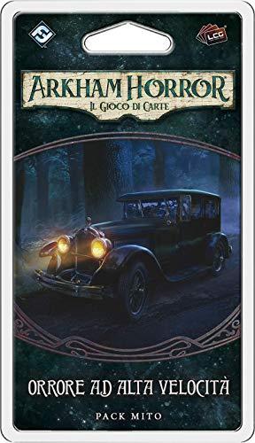 Asmodee - Arkham Horror, Il Gioco di Carte: Orrore ad Alta Velocità, Espansione Gioco di Carte, Edizione in Italiano, 9658