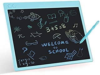 LCD Writing Tablet, ROCSMAC 16 Inches Colorful Screen Scribbler Boards Writing Doodle Board Erasable Electronic Drawing Pa...