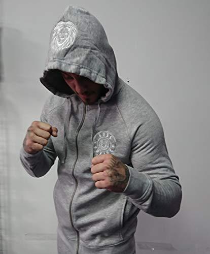 Boss Boxing Zip Trainingsanzug, Navy, XL