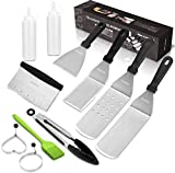 Vomelon Flat top Grill Griddle Accessories Professional BBQ Cooking Kit Hibachi Grill Accessories...