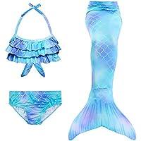 Hejin Cola de Sirena con ala Ideal para Nadar para Niños, A6,140