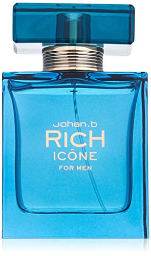 Rich Icone By Johan B Cologne for Men 3.0 Oz/90 Ml Eau De Toilette Spray by Johan