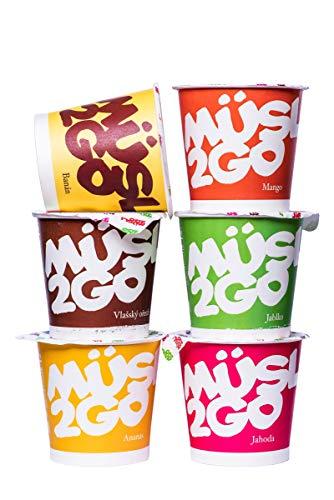 Müsli2Go 5+1 von MESAVERDE Müsli, 5 + 1 ein gesundes Frühstück für einen erfolgreichen Start in den Tag, glutenfrei und laktosefrei geeignet für Veganer