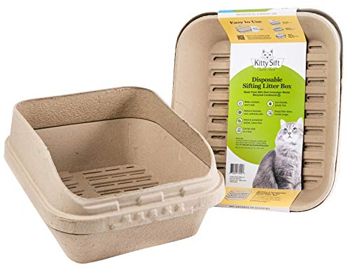 Kitty Sift Jumbo Disposable Sifting Litter Box