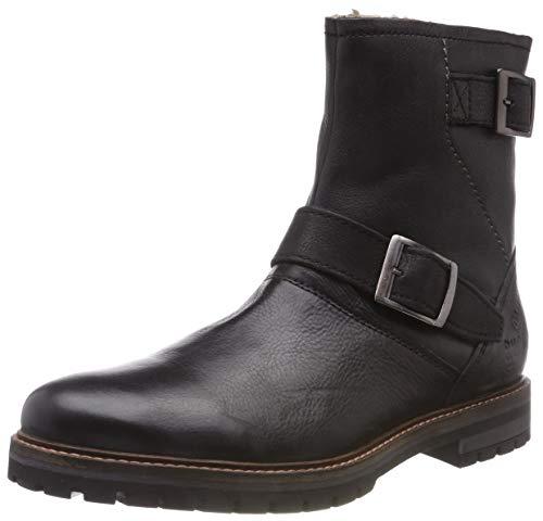 bugatti Herren 321600531000 Klassische Stiefel, Schwarz, 42 EU