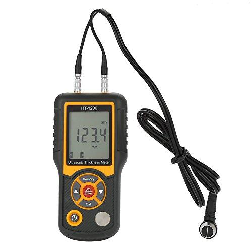 HT-1200 Ultraschall Dickenmessgerät LCD Digital Meter Tester Messwerkzeug 1,2~225mm Bereich