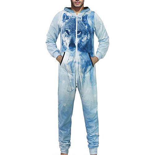 FRAUIT 3D druk unisex jumpsuit liefhebbers pyjama-sportkleding hoodie-3D jogger capuchonpullover strampelpak 3D Printed Onepiece mannen zacht nachtkleding fitness trainingspak
