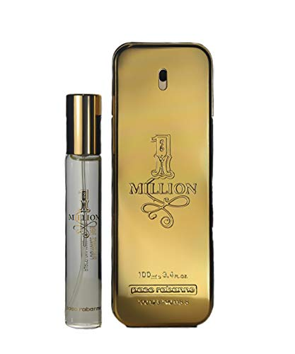 Paco Rabanne 3349668571741 1 Million Geschenkset (Eau de Toilette,100ml+20ml),