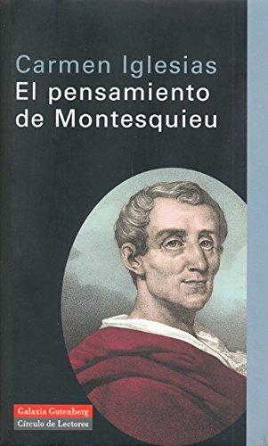 El pensamiento de Montesquieu (Ensayo)