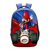FENGHU Mochila Super Mario Personalidad 2020 Nueva Tendencia Super Mario Bolsa De La Escuela De Los Niños Bolso De Hombro De Estudiante.
