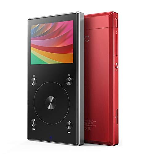 WXX FIIO X3 Mark III Audio balanceado Bluetooth 4.1 DSD Reproductor de Audio Digital portátil de Alta resolución (Negro) (Color : Red)